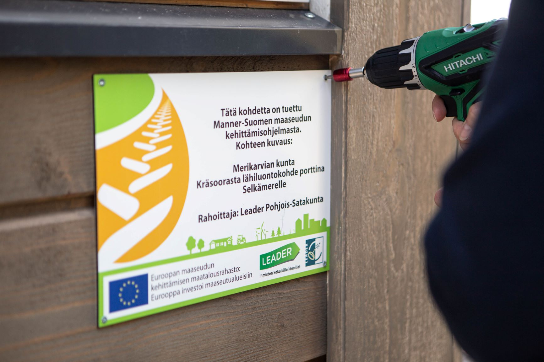 Tätä kohdetta on tuettu Manner-Suomen maaseudun kehittämisohjelmasta.