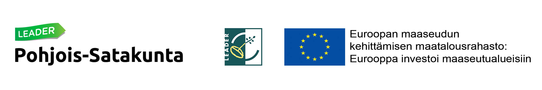 Leader Pohjois-Satakunta ja EU:n maaseuturahasto logot